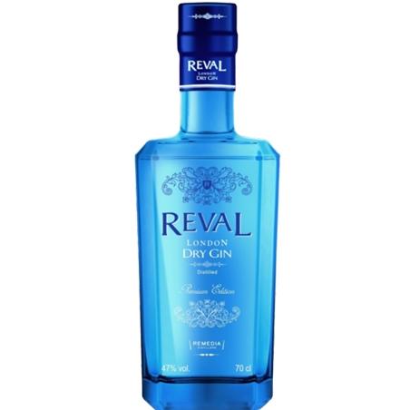 GIN REVAL LONDON DRY - GIN74