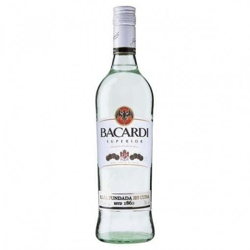 RUM BACARDI 70 CL 1X12 UN. - RUN01